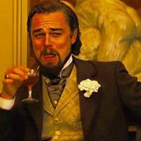 Pulsa en la imagen para verla en tamaño completo  Nombre: Leonardo-DiCaprio-laughing-meme-template-of-Django-Unchained-1024x1024.jpg Visitas: 158 Tamaño: 96.6 KB ID: 67416